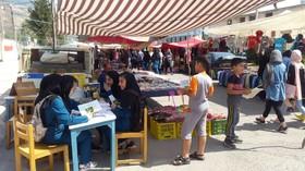 بازار گرمِ فعالیتهای کانون در چهارشنبه بازار رستم آباد