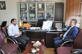 نشست مدیرکل کانون و مدیرعامل سازمان فرهنگی ورزشی شهرداری اردبیل