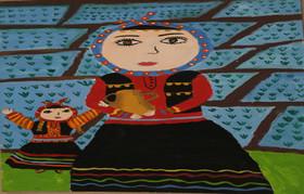 نقاشی کودکان گیلانی از«سرزمین مادری» برگزیده مسابقه بینالمللی بلاروس