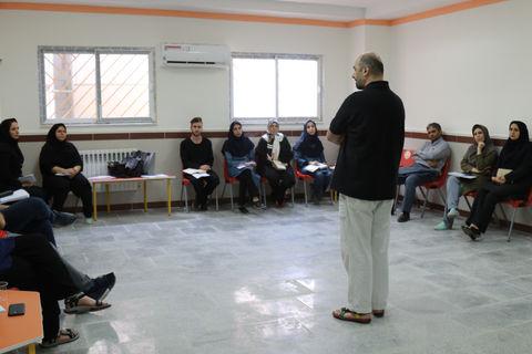 کارگاه آموزشی کارگردانی تئاتر در کانون مازندران