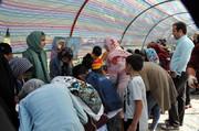 ششمین جشنواره طلب باران در شهرستان کوثر اجرا شد
