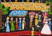 نقاشیهای کودکان کردستانی از «سرزمین مادری»، برگزیده مسابقه بینالمللی بلاروس