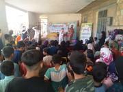پیک امید کانون ایلام در کنار بچه های روستای سیل زده چم شیرقرار گرفت