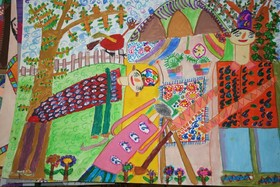 7کودک اصفهانی ،برگزیدگان مسابقه بین المللی نقاشی بلاروس