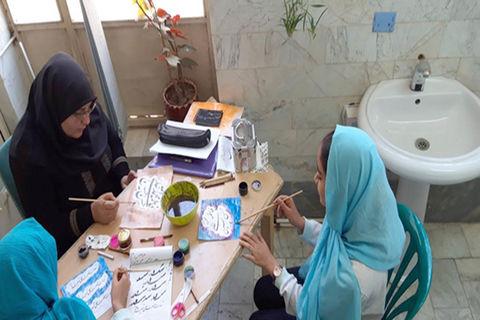 موفقیت اعضای کانون مهدیشهر در آزمون انجمن خوشنویسان