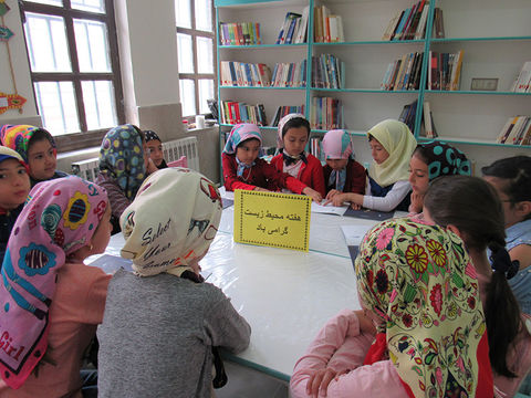 مراکز کانون استان اردبیل هفته محیطزیست را گرامی داشتند