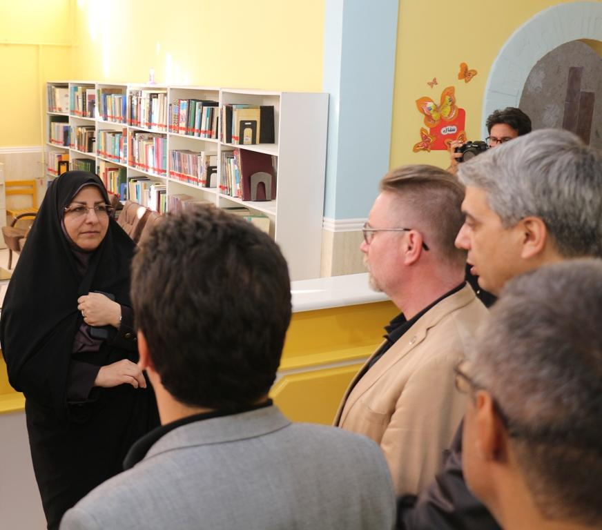 بازدید نماینده یونیسف از کانون فارس