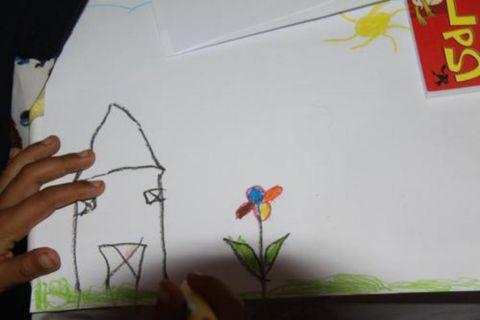 پیک امید کانون ایلام با بچه های روستای سیل زده چم شیر