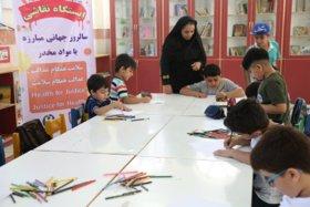 برپایی ایستگاه نقاشی در مرکز شماره 2 کانون بوشهر به مناسبت سالروز جهانی مبارزه با مواد مخدر