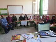 اولین روز تابستان در کنار اعضای مراکز سیار کانون استان قزوین