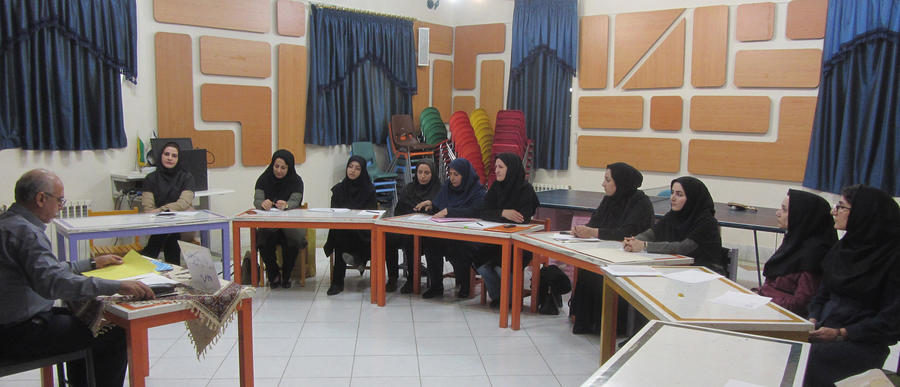 نشست فصلی مربیان هنری کانون لرستان درخرم آباد برگزارشد
