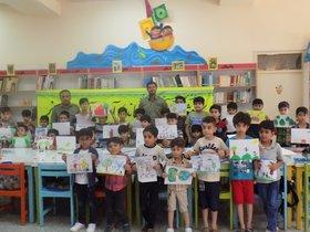 مسابقه نقاشی با موضوع آسمان آبی زمین سبز