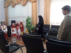 اعضای مرکز فرهنگیهنری شماره دو زابل(سیستان و بلوچستان) با فرماندار دیدار کردند