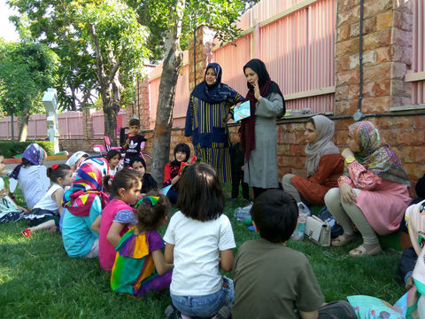 گزارش تصویری آغازی خوب برای تابستان در مراکز کانون استان قزوین