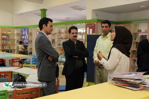 بازدید مدیر کل از مرکز شماره 33 کانون استان تهران/ عکس از ساغر لطفی نژاد