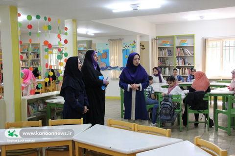بازدید مدیر کل از مرکز شماره 25 کانون استان تهران/ عکس از ساغر لطفی نژاد