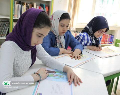 بازدید مدیر کل از مرکز شماره 25 کانون استان تهران/ عکس ساغر لطفی نژاد