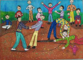 چهار کودک کانون استان ،برگزیدگان مسابقه بین المللی نقاشی بلاروس