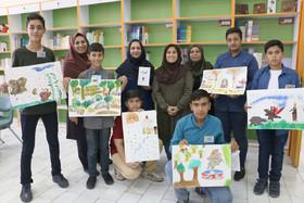 گزارش تصویری از راهاندازی نخستین انجمن هنرهای تجسمی اعضای نوجوان مراکز فرهنگیهنری کانون پرورش فکری استان سمنان