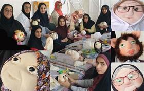 کارگاه آموزشی  تولید عروسکهای رومیزی، در یزد برگزارشد