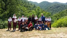 کانون گیلان به میهمانی بچههای روستا رفت