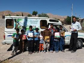 تابستان شاد اعضای کتابخانه سیار روستایی زیرکوه در کانون خراسان جنوبی