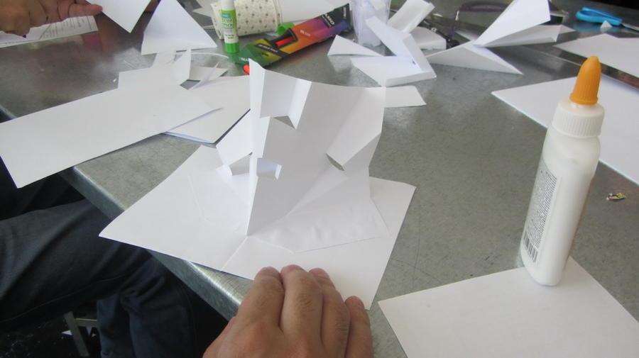 کارگاه آموزشی طراحی صحنه با تکنیک پاپآپ