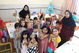 تابستانی شاد با حضور کودکان ونوجوانان