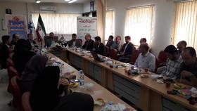 گزارش تصویری ازآیین تکریم و معارفه مدیر کانون زبان استان لرستان