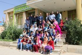 بازدید مدیر کل برنامه و بودجه  از مراکز استان به روایت تصویر