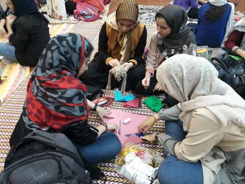 ویژه برنامه دهه کرامت مرکز شماره 14 کانون تهران