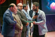 تجلیل از همکار هنرمند کانون استان کرمانشاه در دومین جشنواره ملی پویانمایی