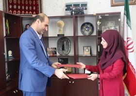 امضای تفاهمنامه همکاری مشترک بین اداراتکل کانون پرورش فکری و فنی و حرفهای استان گلستان