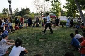 بازیهای بومی و محلی در طرح تابستان شاد با همکاری کانون و شهرداری بجنورد