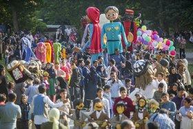 شادپیمایی عروسکها در کرمانشاه