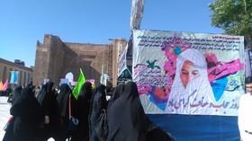 کارگاههای فرهنگی هنری مراکز کانون استان آذربایجان شرقی در اجتماع مردمی «روز عفاف و حجاب»