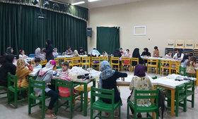 کارگاه آموزشی  ساختگلسردر مرکز فرهنگی هنری کانون شماره 3 بندرعباس