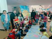 ایستگاه دوم پویش فصل گرم کتاب را با حضور کودکان و نوجوانان برپا کردند.