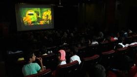 گزارش تصویری اکران فیلم «ضربه فنی» درسالن آمفی تئاترکانون لرستان