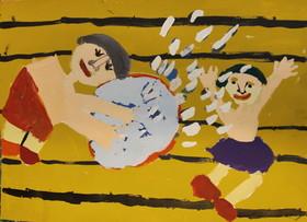 مانی وفا ۱۰ ساله از مرکز فرهنگی هنری شماره ۳۲ کانون  تهران
