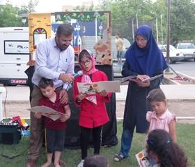 گزارش تصویری دومین اجرای تابستانی پویش «فصل گرم کتاب» در قزوین