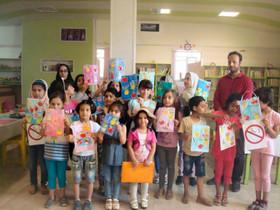 """اجرای برنامه """"به پلاستیک نه بگوییم"""" در مرکز اسدآباد"""