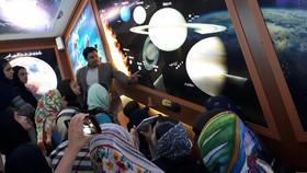 بازدید اعضای مرکز فرهنگی هنری کانون نیر از رصدخانه استان اردبیل