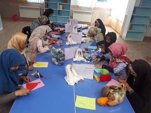 گرامیداشت هفته عفاف و حجاب در کانون سرایان