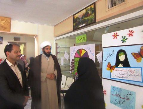 بازدید مسئولان فردوس از برنامههای کانون در هفته عفاف و حجاب