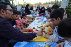 پویش فصل گرم کتاب در پارک ائلگلی تبریز