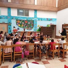 گرامیداشت روز ادبیات کودک و نوجوان در کتابخانه عمومی کیش