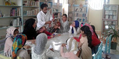 استقبال اعضا از ویژهبرنامههای اوقات فراغت کانون در دولتآباد