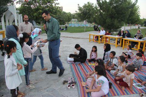 هفته دوم پویش «فصل گرم کتاب »پارک اللر باغی ارومیه