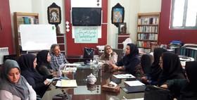 سلسله دورههای آموزشی انجمن نمایش کانون پرورش فکری در یزد، برگزار شد